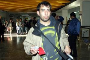 Rodrigo López regresó a la Ciudad de México luego de tratar asuntos de trabajo.