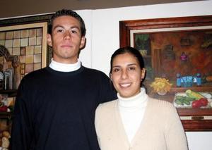 Armando Zamora y  María del Carmen  Valdez.