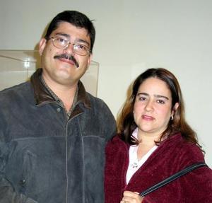 Arnulfo Corona y Luisa Aguilar de Corona.