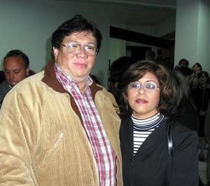 Señores Humberto Guajardo y Gabriela Gaspar de Guajardo.