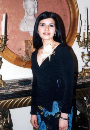 Maribel Núñez Villanueva en su primera despedida de soltera.