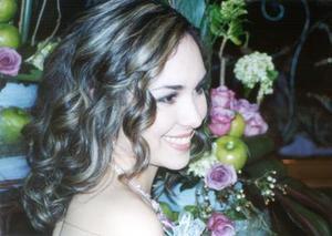 Anaís Anaya Córdova en su primera despedida de soltera.