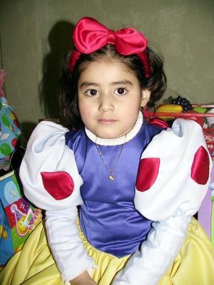 Karime Isela Delgado Sánchez festejó su cuarto cumpleaños de vida con una divertida fiesta infantil.