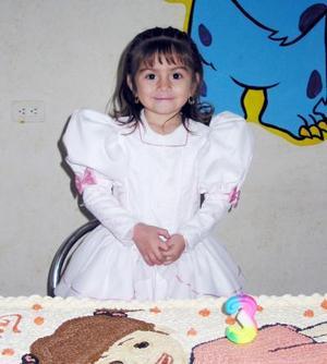 La pequeña Alejandra Villarreal Meraz festejó su cumpleaños con una fiesta.