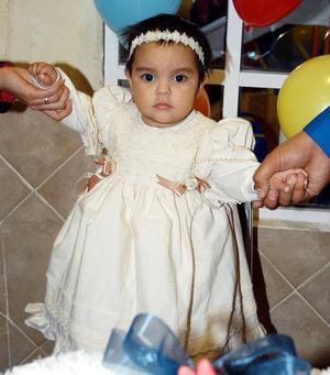 <u> 27 de enero </u> <p> La pequeña Michelle Elizabeth Gurrola Palomo fue festejada con una divertida fiesta infantil, con motivo de su primer año de vida.