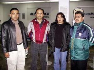 Gustavo Campos, Gerardo Bárcena, María de la Luz y Reynaldo Morales viajaron a Puerto Vallarta.