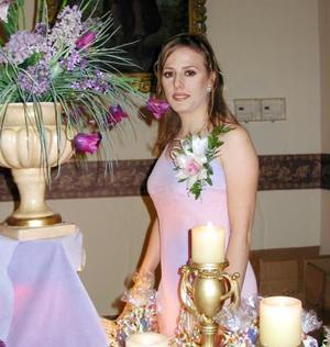 Carmen Montes Escobedo disfrutó de una despedida de soltera.
