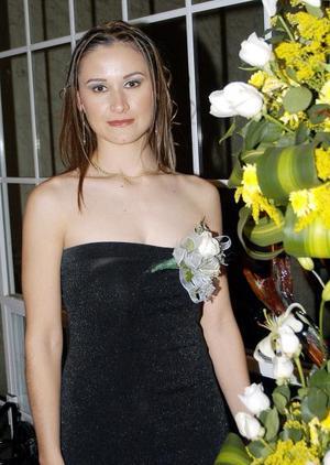 Brenda Quezada durante su despedida de soltera.