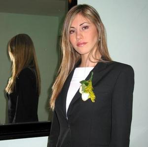 <u> 29 de enero </u> <p> Ana Máynez Varela, contraerá nupcias con Horacio González Berlanga por lo que fue despedida de su soltería.
