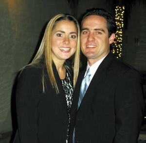 Regina Setien Valenzuela e Iván Gutiérrez.