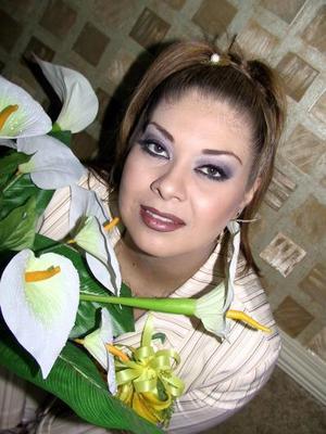 Mayra Ileana Garibay Soto durante su desedida de soltera.