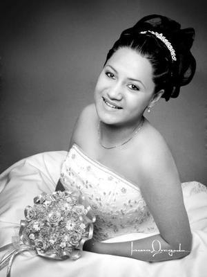 Srita. Wendy Leticia Rocha Nava el día de su fiesta de quince años