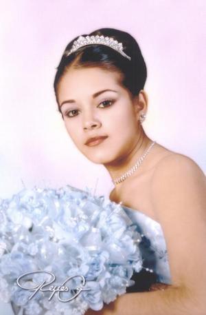 Srita Mariana Delgado Altamira, el día de sus quince años de vida., es hija de los deñores Sergio Delgado y Margarita Carvantes