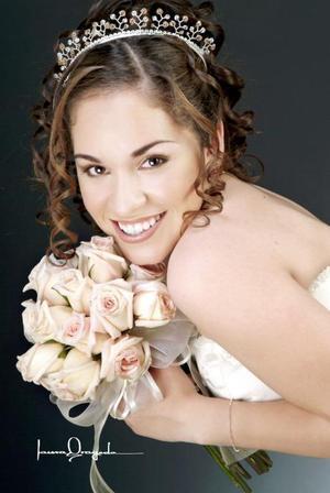 Srita. María Fernanda Gómez Vázquez, el día de su fiesta de quince años.