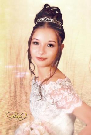 Srita. Sandra Elizabeth García Rodríguez cumplió quince años de vida.