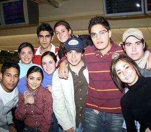 Guillermo, María, Karim, Eva, Sofía, Dora Alicia, Neni, José y Yamil.