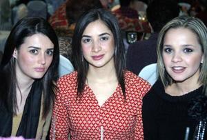 Mónica Siller, Laura Pérez y Ale Nahle de Miajres.