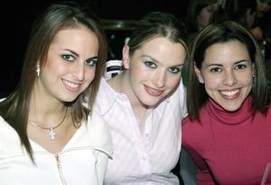 Sofía Zarzar, Karla Villarreal y Mónica Martínez fueron captadas en reciente reunión social