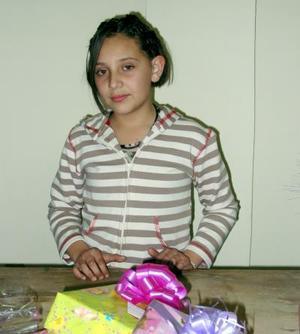 Paulina de Lara Domínguez festejó sus 11 años de vida, con una divertida fiesta en días pasados