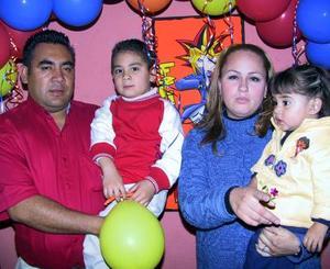 Raúl Negrete Daga festejó su sexto cumpleaños en compañía de sus papás Raúl Daga y Aurora Negrete y de su hermanita.