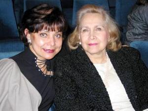 Irma Gregory y Mina de Arzoz.