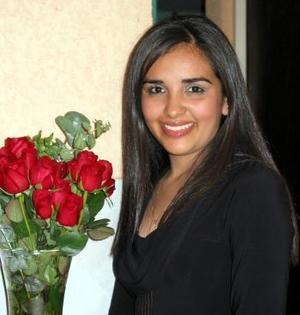 Matha Patricia Luna Villa festejó su cumpleaños.