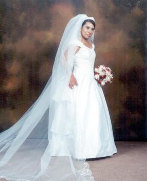 Gabriela González Ávila unió su vida a la de Saúl Joshua Zuñiga Alvarado.