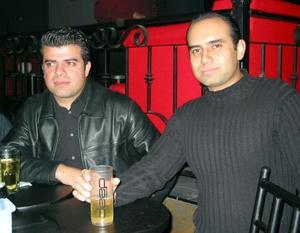 Arturo Maturino y Salomón Ríos.