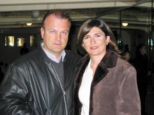 Federico Sáenz y Cecilia de Sáenz.