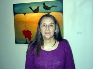 Rosy Gordillo presentó la exposición 'Obscura Belleza'.