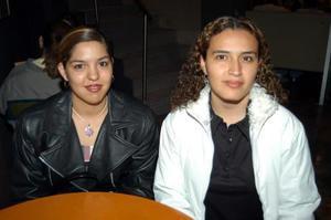 <b><u>09 de febrero</b></u><p>  Arizbeth Rodríguez y Rosa Bertha Valadez.