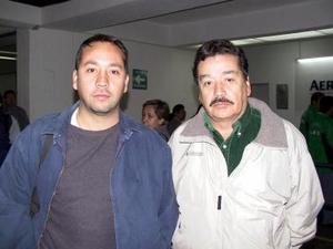 <u><b>09 de febrero</u></b><p> Salvador Contreras fue despedido por Salvador Contreras Jr., antes de partir con destino a Managua, Nicaragua.