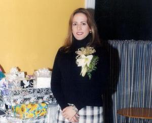 Carmen Montes Escobedo disfrutó de una despedida de soltera con motivo de su próximo enlace.