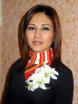 Naiffe Denisse Suárez Hernández captada en su despedida de soltera, realizada con motivo de su próximo matrimonio.