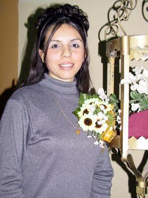 Verónica Araceli Ortega Chávez captada en una de sus despedidas de soltera realizada en días pasados.