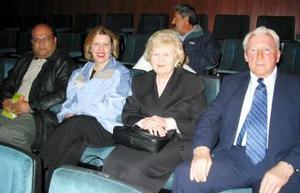 Luis Enrique Montañez, Ann  Dancsák y el matrimonio canadiense Jánas Dancsák y María Dancsák