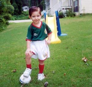 El pequeño Luis Moisés Rezendez Rabiela celebró su cuarto cumpleaños en días pasados.