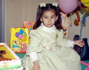 Natalia Estefanía Rodríguez  cumplió su tercer aniversario de vida y los festejó con una divertida fiesta que le organizaron sus papás.