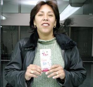 Gabriela Pérez Beltrán, se unió a la lsita de felices ganadores de este juego.