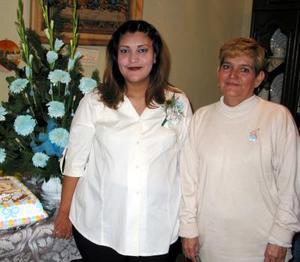 <b><u>11 de febrero </b></u><p>  Irma Leticia Mejía Rojas fue agasajada con una fiesta de canastilla, con motivo del cercano nacimiento de su bebé.