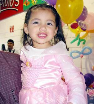 Melissa Aranda festejo su cumpleñaos en fechas pasadas con una divertida fiesta infantil.