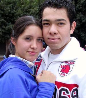 Abraham Sabag y Paulina Cárdenas.