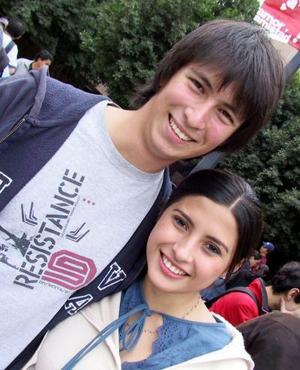 Denisse González y Alejandro Madero.