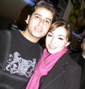 José Luis Gutiérrez y Vanessa Noe.