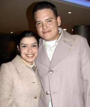 Susana Ortiz y Carlos de Luna.