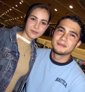 Alejandro Castañeda y Daniela Martínez.