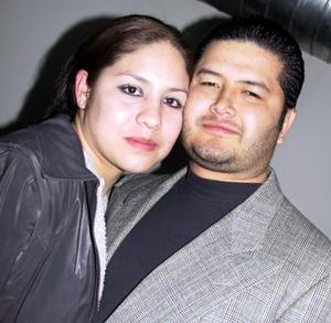 Ana Ivonne Ordaz Mota y Héctor Corrales Campos.