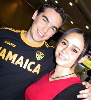 David Obeso y Mercedes Orozco.
