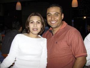 Janeth Arenas y Guillermo Barajas.