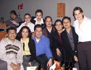 Areli Giacoman, Carlos Zavala, Sonia Anaya y 'El chino'.